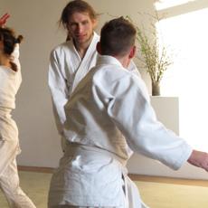 Momentaufnahme aus dem Aikido Training