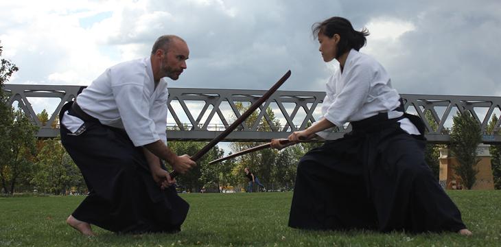 Kenjutsu im Park