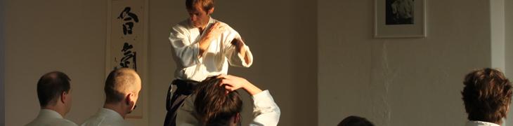 Aikido seminar Phlippe Orban